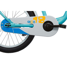 s'cool niXe 18 Børnecykel alloy blå/turkis